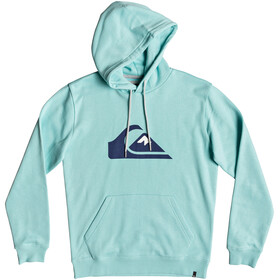 Quiksilver Big Logo Capuchon Heren, aqua splash